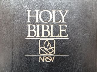 Photo of Knox church Bible