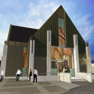 Image of new look Knox Church